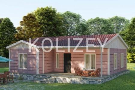 Prefabrik villa, evlerin layihelendirilmesi, tikintisi