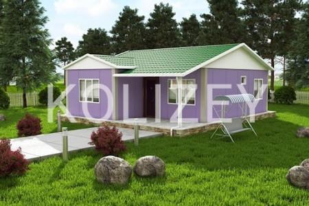 Prefabrik evler, layihelendirilmesi, tikintisi