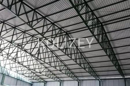 Metal konstruksiya fermalar, anbar tikintisi