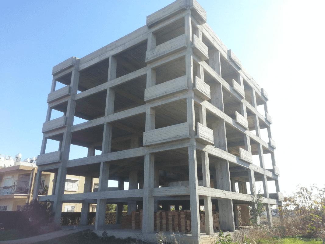 Tİcarət mərkəzi layihəsinin dəmir-beton işləri